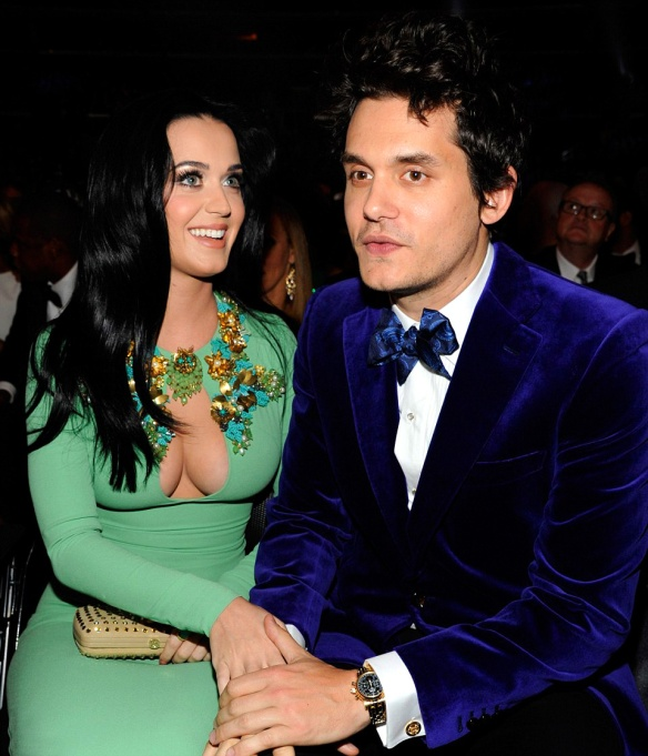 Katy-Perry-with-John-Mayer-wearing-Patek-Philippe-at-2013-Grammys